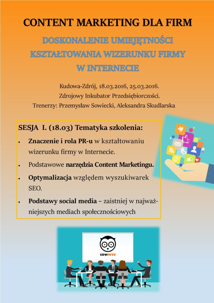 szkolenie_ Content Marketing i Social Media