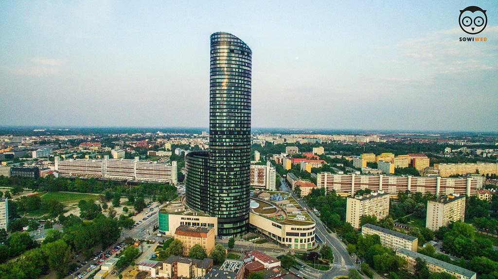 Wrocław dronem