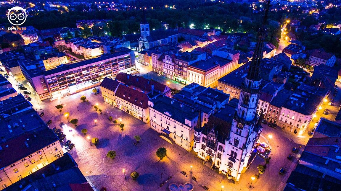 Fotografia dronem w Ząbkowicach Śląskich