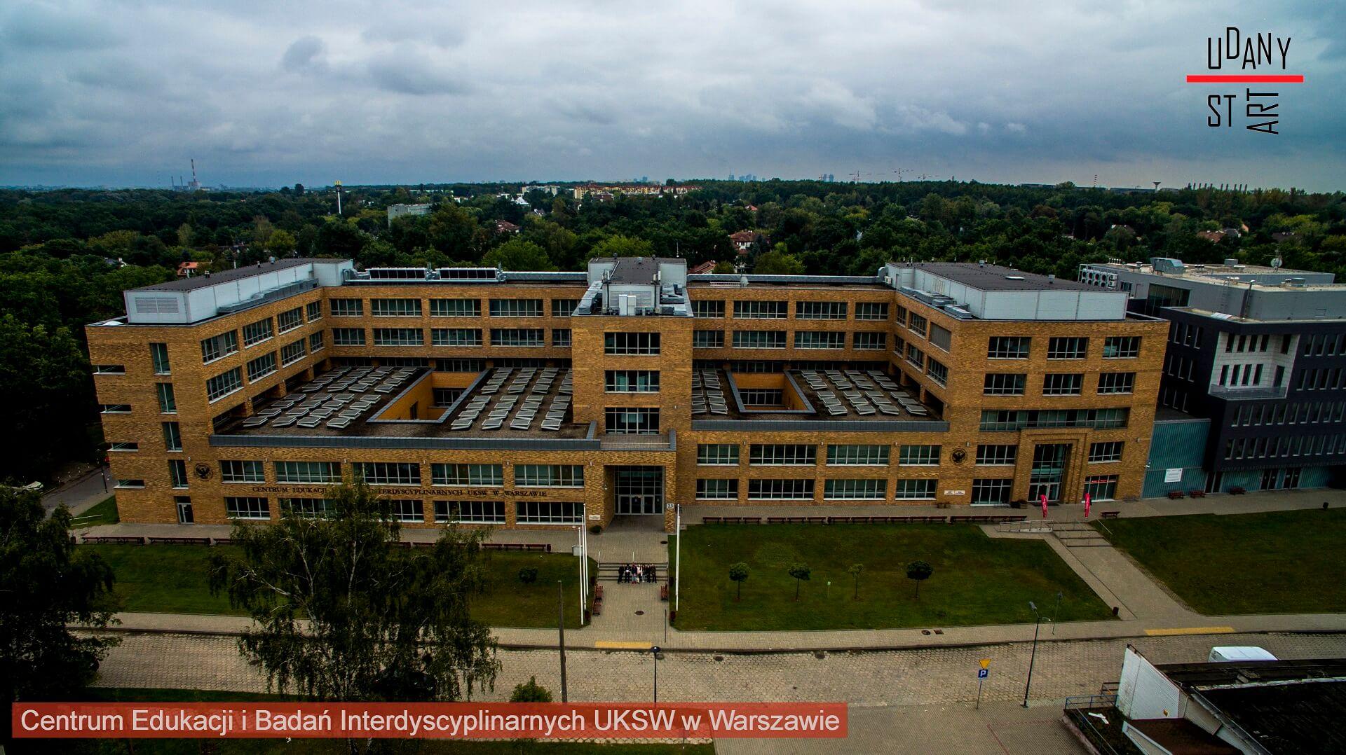 Warsztaty fotografii dronowej na UKSW