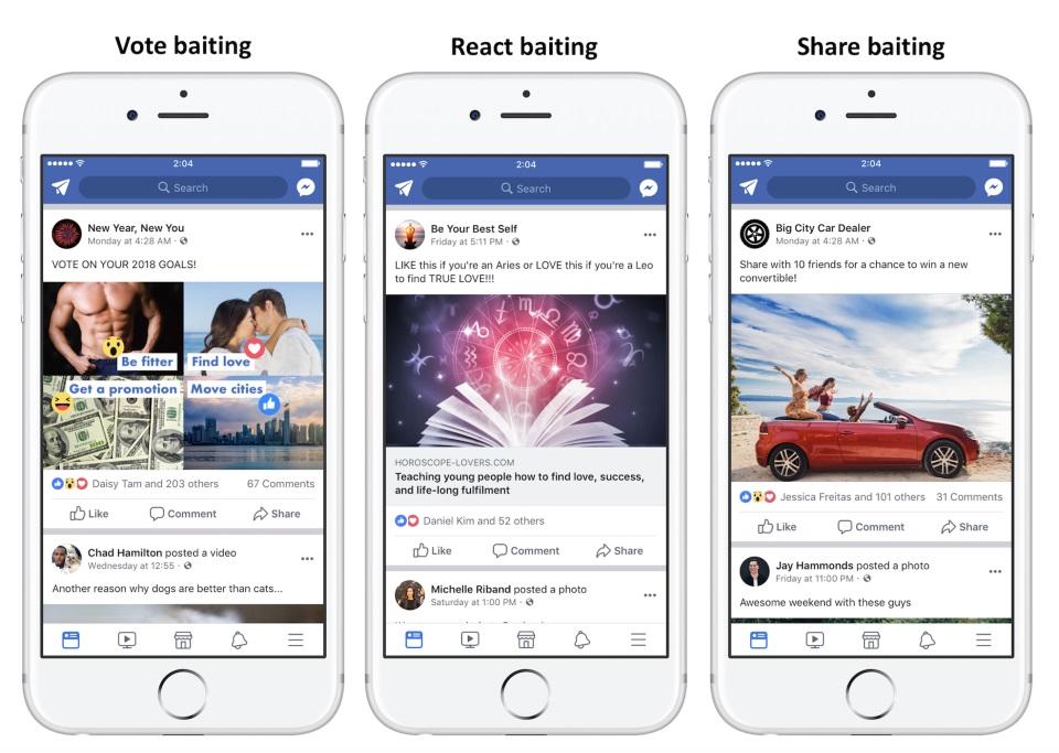 Nowe algorytmy Facebooka